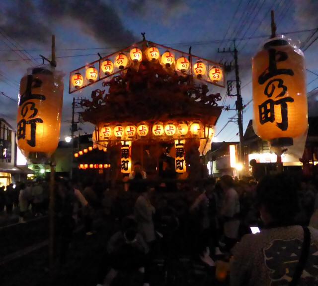 上野町彫刻屋台1
