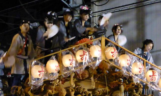 上野町彫刻屋台4