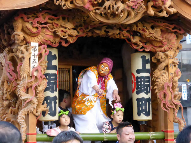 上野町彫刻屋台7