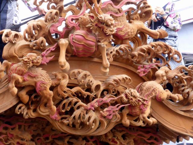 上野町彫刻屋台8