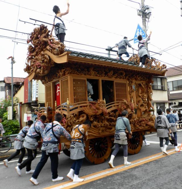 上野町彫刻屋台9