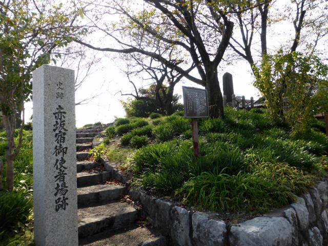 赤坂宿~垂井宿1