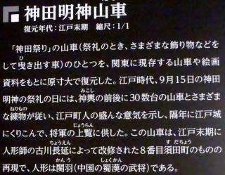 神田明神山車5