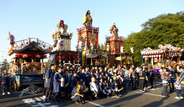 佐倉の秋祭り3