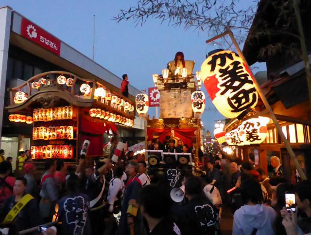 佐倉の秋祭り1