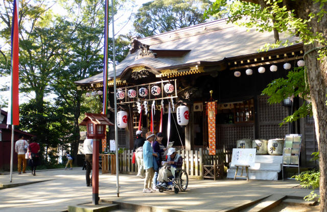 佐倉の秋祭り9