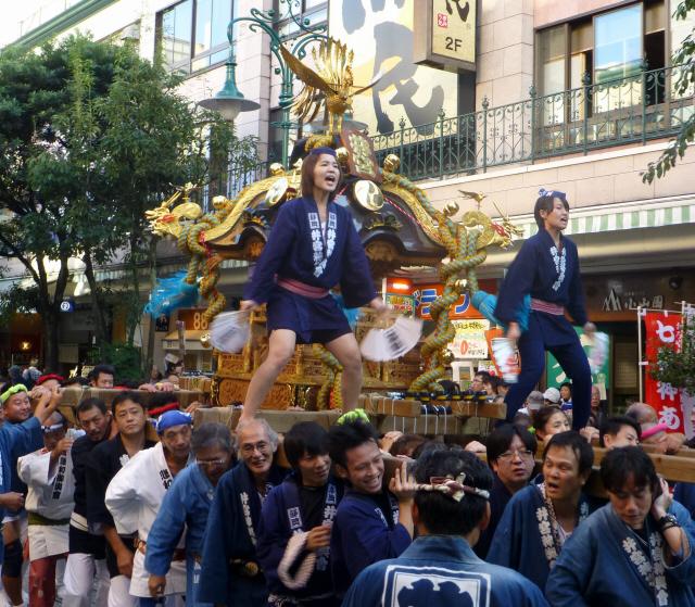 静岡みこし祭0