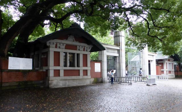 東京大学/正門1