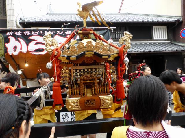 上野天神祭・神輿1