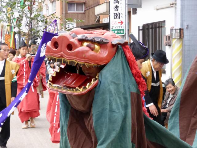 上野天神祭・神輿2