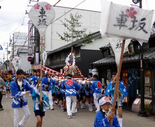 上野天神祭・神輿4