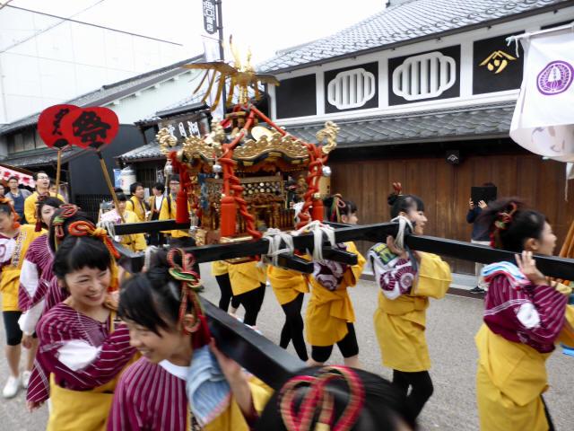 上野天神祭・神輿55