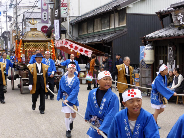 上野天神祭・神輿b