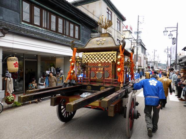 上野天神祭・神輿c