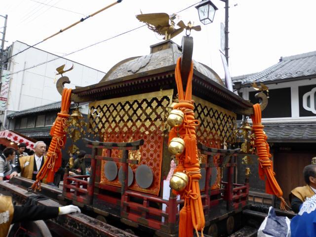 上野天神祭・神輿e