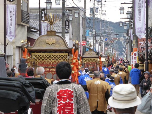 上野天神祭・神輿g