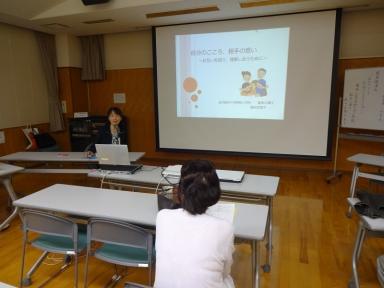 分かりやすい講演を頂きました堀田先生