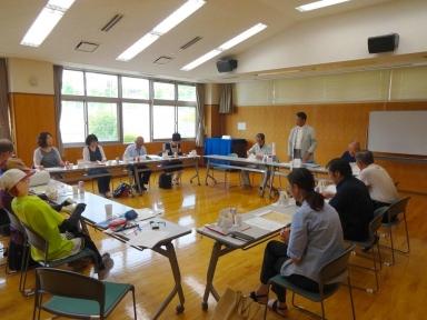 板谷実行委員会委員長の開会の挨拶
