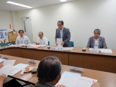 初のプロジェクト検討会を開催