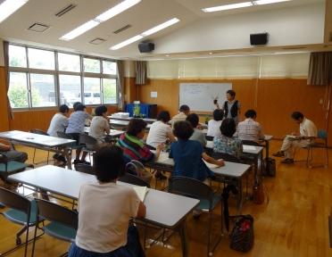 4回目の教室でハーブを学ぶ