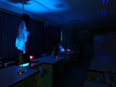 理科室の怖い仕掛けも