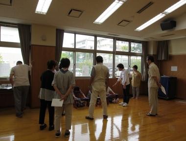 体力測定を中心とした健康教室