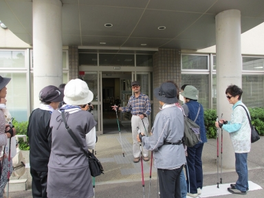 上田町連副会長の開会挨拶