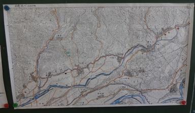 金浦用水地図