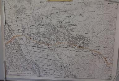 若松地区の図と字名