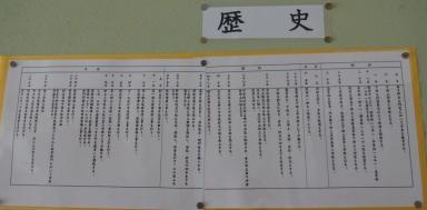 田上小の歴史、これに昭和12年の初代尊徳像建立が追加