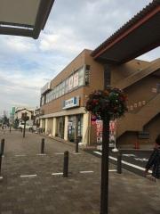 田口不動産 吹上店 吹上駅前ロータリーの様子