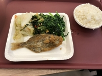 清粥小菜店の夕食161224