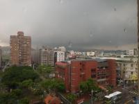 觀音山は豪雨160527
