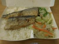 秋刀魚飯160812
