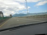 64快速公路から陽明山160815