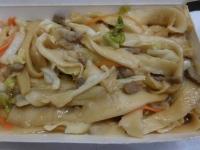 牛肉炒刀削麺160825