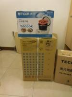 タイガー炊飯器と開飲器160902