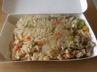 青椒牛肉絲炒飯160908