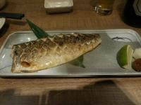 鹽烤鯖魚161117