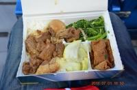 豚角煮弁当160701