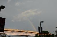 虹が出た160703