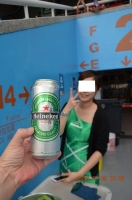 次はハイネケン缶ビール160703