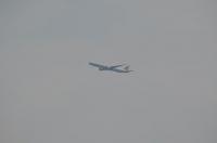 離陸したキャセイ航空機160718