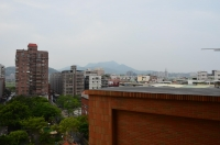 台風一過の観音山160928