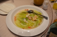 天津白菜とカニ爪のうま煮161015