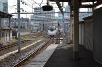 特急ひたち15号東京駅入線161021