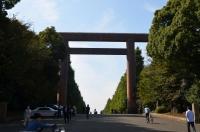 靖国神社参道161023