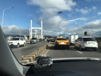 台北市につながる重陽橋は大渋滞161220