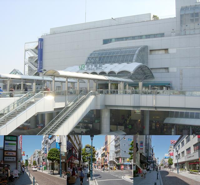 ■茅ヶ崎駅まで徒歩11分!駅近ですね~!!エメロード商店街が近く便利。