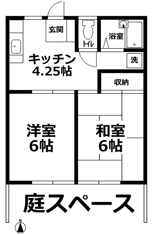 ■物件番号2777 茅ヶ崎海5分!雰囲気の良い広い敷地!格安5万円で2Kタイプに住める!37平米!おすすめ!